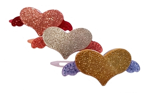 Flying Heart Clip