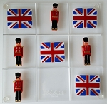 Tic Tac Toe Game Set - Union Jack & Queen's Guard