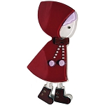 Little Riding Hood Clip - Red
