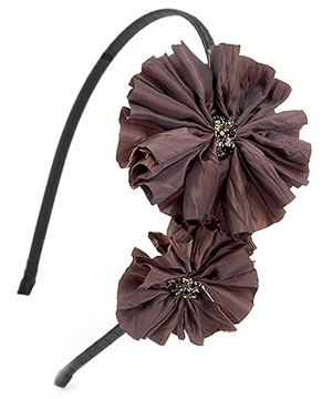 Derby Headband - Brown